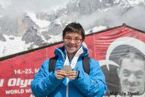Matilde Zipoli agli Special Olympics World Winter Games 2017