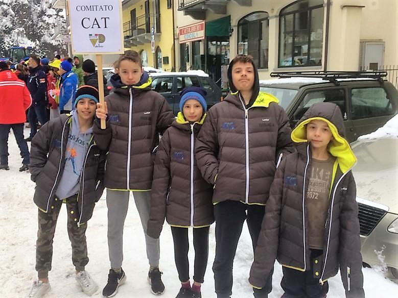 CHIUSA DI PESIO Campionati italiani allievi e ragazzi di Biathlon
