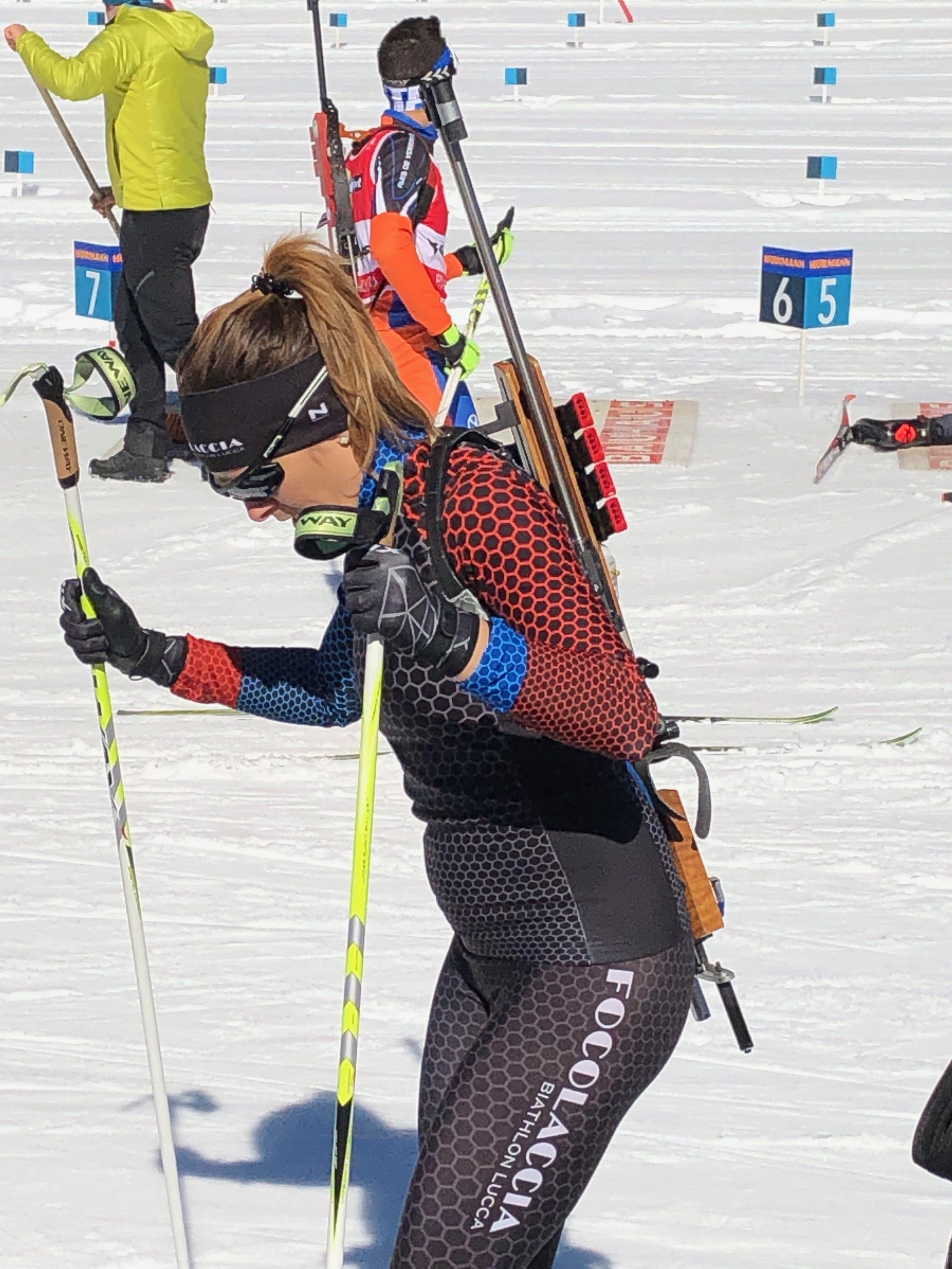 """La squadra """"Focolaccia biathlon"""""""